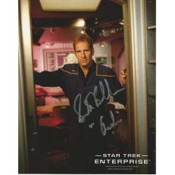 Star Trek Enterprise seven main cast autographed photos hand signed