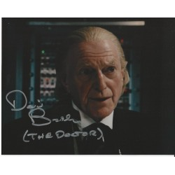 David Bradley Doctor Who hand signed autographed photo
