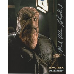 Mark Allen Sheppard Star Trek DS9 hand signed autograph