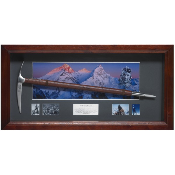 Edmund Hilary Everest Signed Ice Pick authentic signature