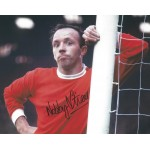 Nobby Stiles Signed 8x10 Manchester United Photograph