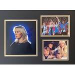 Abba fully signed group framed display