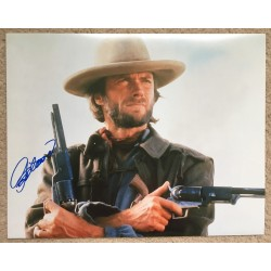 Clint Eastwood 11 x 14 Signed Photo