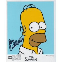 Dan Castellaneta Signed Homer Simpson Photograph - The Simpsons