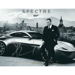 Daniel Craig Signed 8 x 10 Photo - James Bond 007 Spectre Autograph