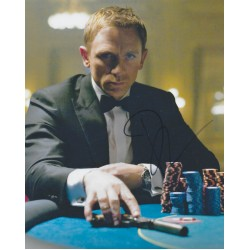 Daniel Craig Signed 8 x 10 Photo 3 James Bond 007 Autograph