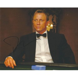 Daniel Craig Signed 8 x 10 Photo 2 James Bond 007 Autograph