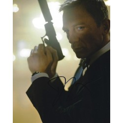 Daniel Craig Signed 8 x 10 Photo 6 James Bond 007 Autograph