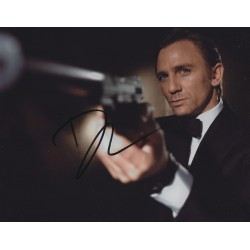 Daniel Craig Signed 8 x 10 Photo 007 James Bond Autograph