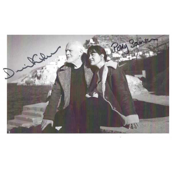 David Gilmour Pink Floyd Signed Photograph