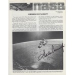 Charles Pete Conrad Signed NASA Gemini 5 Report Document