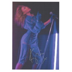 Kylie Minogue signed photograph