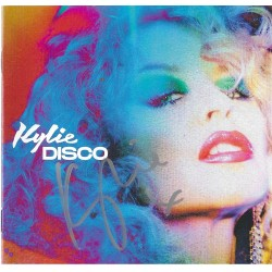 Kylie Minogue signed CD Sleeve - Disco
