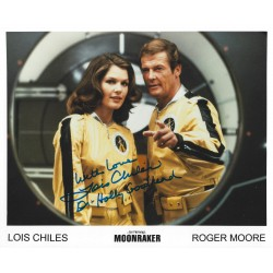 Lois Chiles Signed 8 x 10 Photo  James Bond 007 Moonraker Autograph