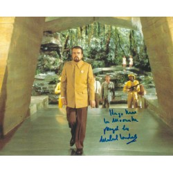 Michael Lonsdale signed 8x10 James Bond Moonraker 007 Photo