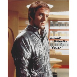 Michael Billington Signed 8 x 10 Photo  Gerry Anderson  UFO