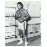 Muhammad Ali Signed 8 x 10 Photo - Cassius Clay Boxing Autograph