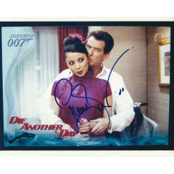 Pierce Brosnan  James Bond 007  signed 8x10 Photograph 4
