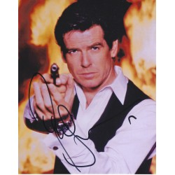 Pierce Brosnan  James Bond 007  signed 8x10 Photograph 1