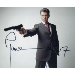 Pierce Brosnan  James Bond 007  signed 8x10 Photograph 2