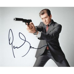 Pierce Brosnan  James Bond 007  signed 8x10 Photograph 3