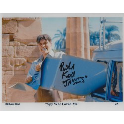 Richard Kiel Signed 8x10 James Bond 007 Jaws Photograph