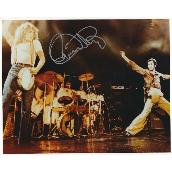 Roger Daltrey signed 8 x 10 Photo - The Who Autograph