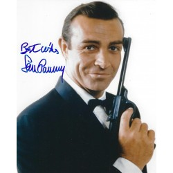 Sean Connery Signed 8 x 10 Photo 2 - 007 James Bond Autograph