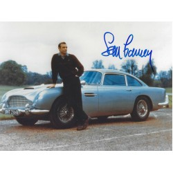Sean Connery Signed 8 x 10 Photo 3 - 007 James Bond Autograph