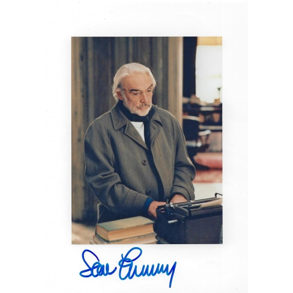 Sean Connery Signed 8 x 10 Photo  - Finding Forrester