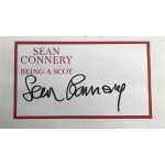 Sean Connery Signed Book - Being A Scot