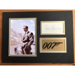 Sean Connery Signed 007 James Bond Display