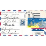 Space Shuttle STS 7 Crew Signed Postal Cover