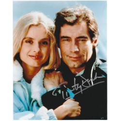Timothy Dalton James Bond 007 signed 8x10 Photograph