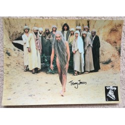 Terry Jones  Monty Python  Signed  The Life of Brian  Lobby Card