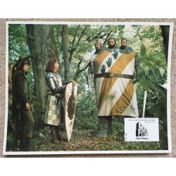 Terry Jones  Monty Python  Signed  Holy Grail Lobby Card