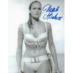 Ursula Andress Signed 8 x 10 Photo - James Bond Dr No Autograph Honey Ryder