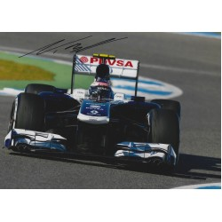 Valtteri Bottas signed 8x11 Photograph  Formula One Grand Prix Autograph
