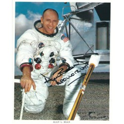 Alan Bean Signed 8x10 Photo - Apollo 12 Astronaut Autograph