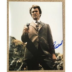 Clint Eastwood 11 x 14 Signed Photo - Dirty Harry Autograph