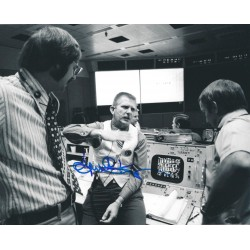Eugene Gene Kranz signed 8 x 10 Signed Photo - NASA Apollo 13 Flight Director
