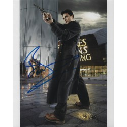 John Barrowman Signed 8x10 Torchwwod Photograph