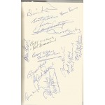 Manchester United Signed Book 2 - Matt Busby George Best Bobby Charlton