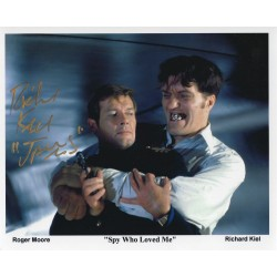 Richard Kiel Signed Jaws  007 James Bond 8x10 Photograph