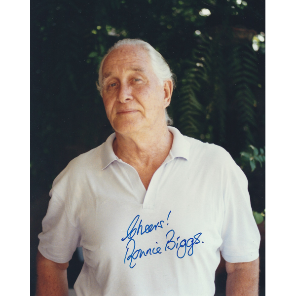 Ronnie Biggs Signed 8 x 10 Photo - The Great Train Robbery Autograph