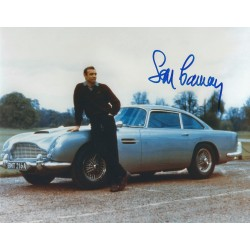 Sean Connery Signed 8 x 10 Photo - James Bond 007 Autograph - Aston Martin DB5