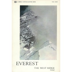 Sherpa Tenzing Norgay Signed Book - Everest The West Ridge - Mount Everest Book