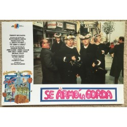Terry Jones  Monty Python  Signed  And Now For Something Completely Different   Lobby Card 3