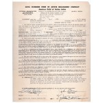 Billie Holiday genuine authentic original signed contract UACC AFTAL