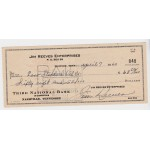 Jim Reeves genuine authentic original signed cheque UACC AFTAL